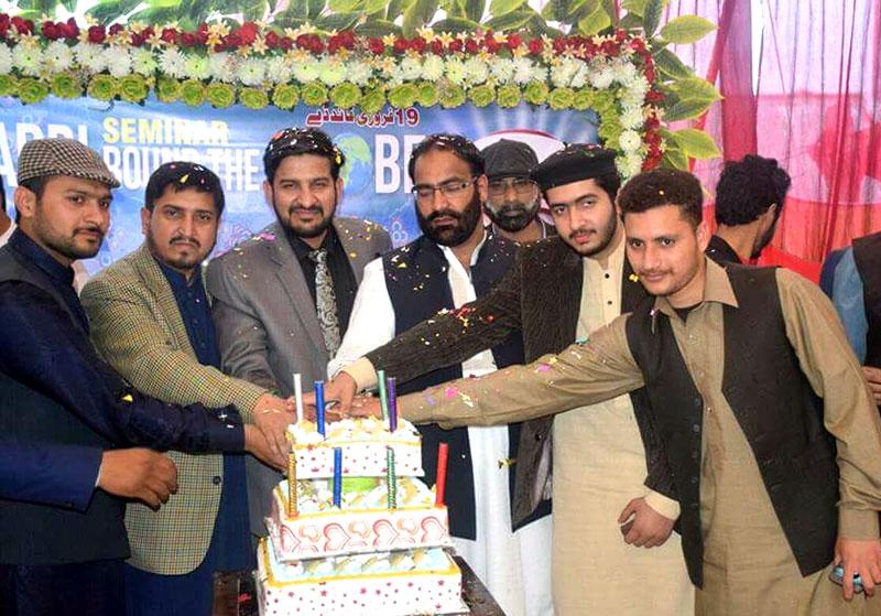 لاہور: منہاج القرآن یوتھ لیگ کینٹ ٹاؤن کے زیراہتمام قائد ڈے تقریب
