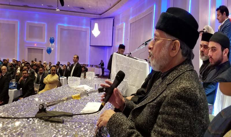 منہاج القرآن انٹرنیشنل کینیڈا کے زیراہتمام قائد ڈے تقریب