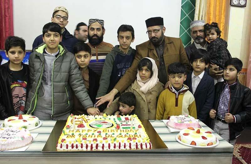 اٹلی: کارپی میں ڈاکٹر طاہرالقادری کی سالگرہ تقریب