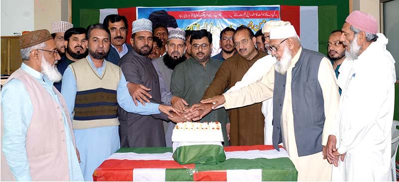 فیصل آباد میں قائد ڈے پر سفیر امن سیمینار