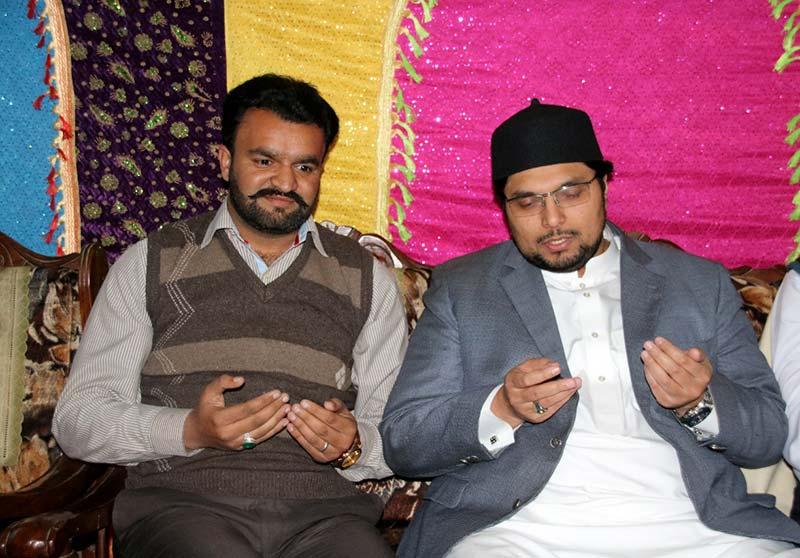 میانوالی: زین جٹ کی ڈاکٹر حسین محی الدین قادری سے ملاقات