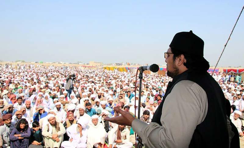 ڈاکٹر حسین محی الدین قادری کا دورہ ڈی جی خان
