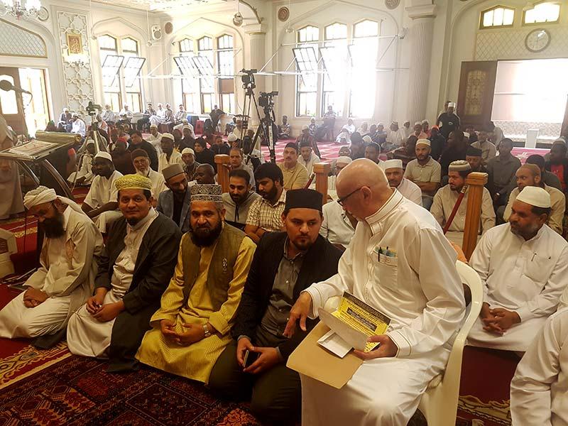 ڈربن: جامع مسجد ہما گرے اسٹریٹ میں جمعۃ المبارک کا اجتماع