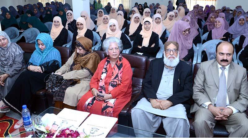 ترقی کیلئے قومی وسائل کا بڑا حصہ خواتین کی تعلیم پر خرچ کرنا ہوگا: بیگم عابدہ حسین