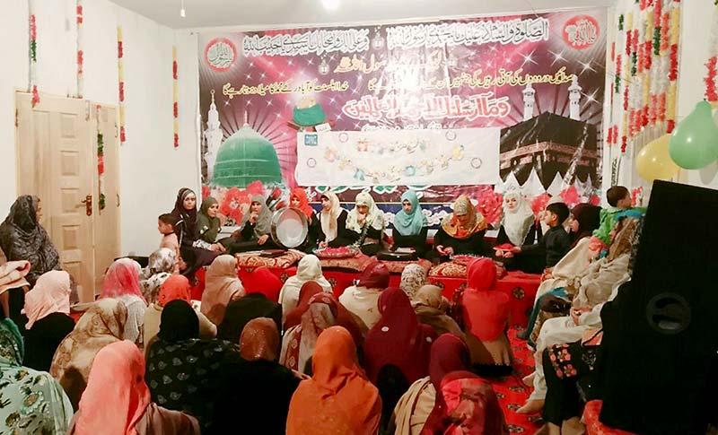 واہ کینٹ: محفل نعت و دعائیہ تقریب بسلسلہ قائد ڈے