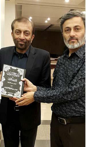 عوامی تحریک کراچی کے رہنماء آصف اللہ رکھا کی فاروق ستار سے ملاقات