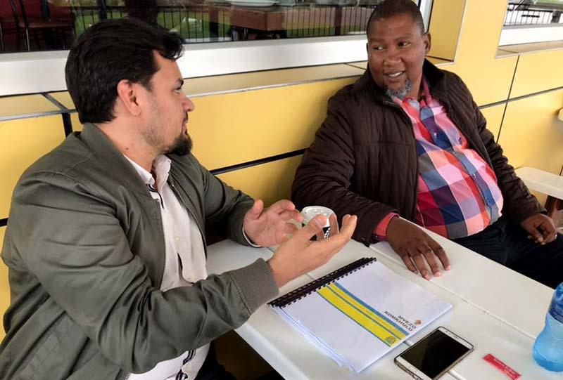 منہاج ویلفیئر فاؤنڈیشن یوکے کے ایم ڈی فیصل مشہدی کا دورہ جنوبی افریقہ