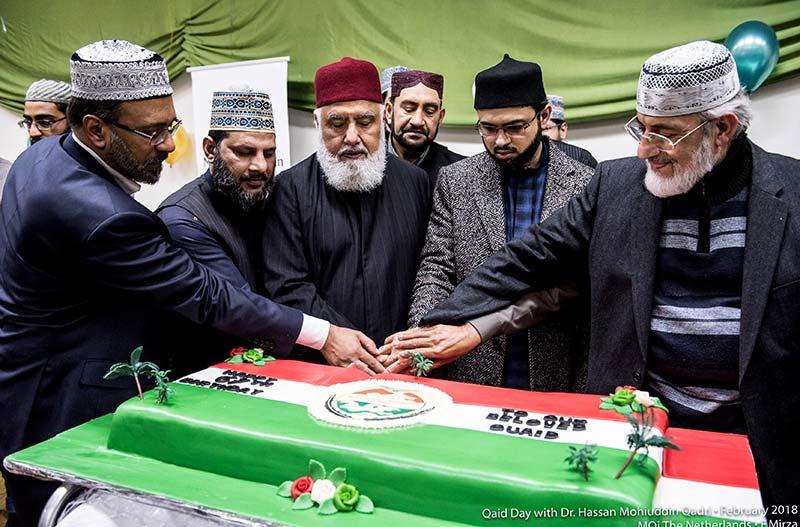 منہاج القرآن انٹرنیشنل ہالینڈ کے زیراہتمام قائد ڈے تقریب