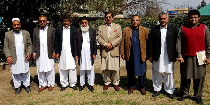 خرم نواز گنڈاپور کی ایبٹ آباد کے وکلاء رہنماؤں سے ملاقات