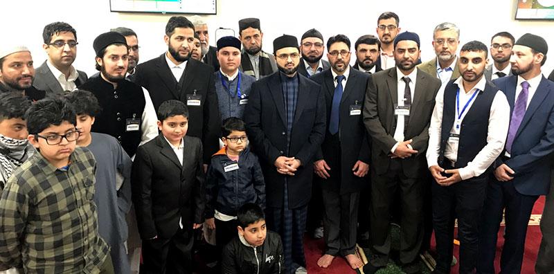 Dr Hassan Mohi-ud-Din Qadri visits Madinat Al-Zahra project