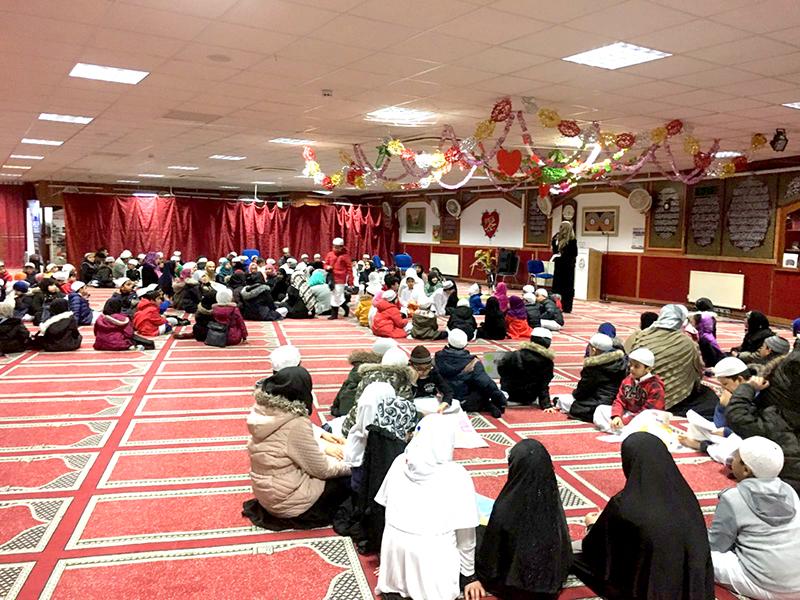 London: Minhaj Evening School students celebrate the Quaid Day