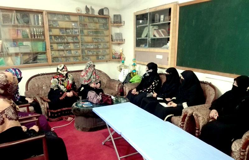 جہلم: منہاج القرآن ویمن لیگ کا ماہانہ اجلاس