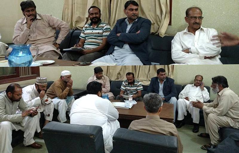 پاکستان عوامی تحریک کراچی سندھ کونسل کا اجلاس