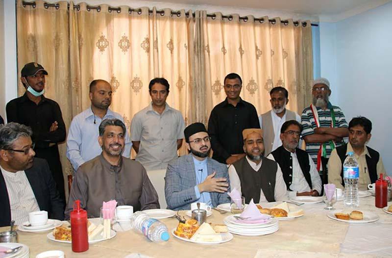 ڈاکٹر حسن محی الدین قادری کی جہلم آمد