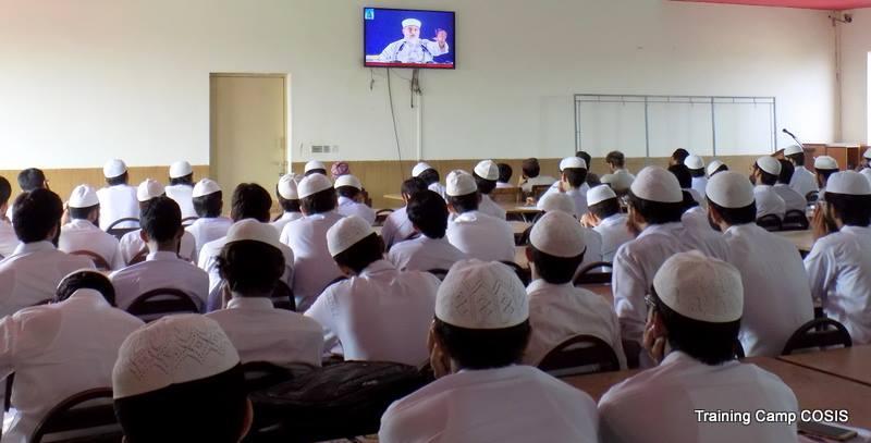 کالج آف شریعہ میں طلباء کے لیے تربیتی کیمپ