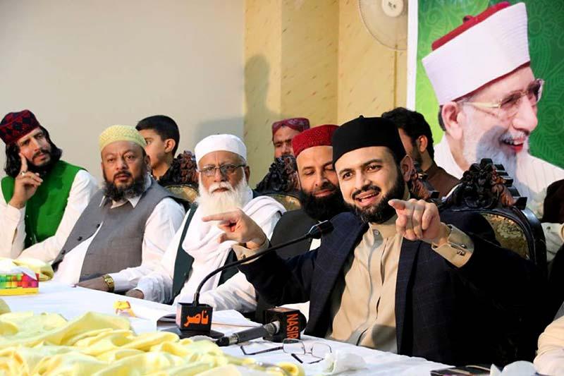 ڈاکٹر حسن محی الدین قادری کا دورہ مظفر آباد