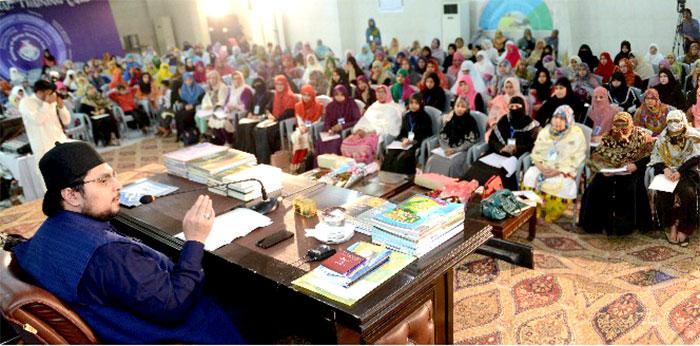تیسرا روز: منہاج القرآن ویمن لیگ کا تنظیمی و تربیتی ٹریننگ کیمپ