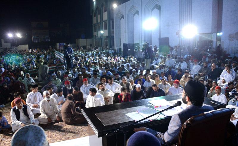 معراج کی شب فضیلتیں قدم قدم آپ ﷺ کے ہم رکاب تھیں: ڈاکٹر حسن محی الدین