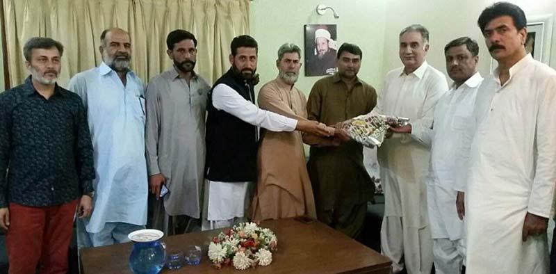 انصاف فرنٹ PIA ایمپلائز یونین کے وفد کی عوامی تحریک کراچی کے قائدین سے ملاقات