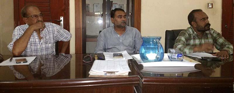 کراچی: پاکستان عوامی تحریک سندھ کونسل کا اجلاس