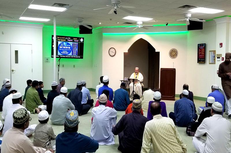 Laylat al-Mi'raj Program at Minhaj-ul-Quran Dallas, Texas USA