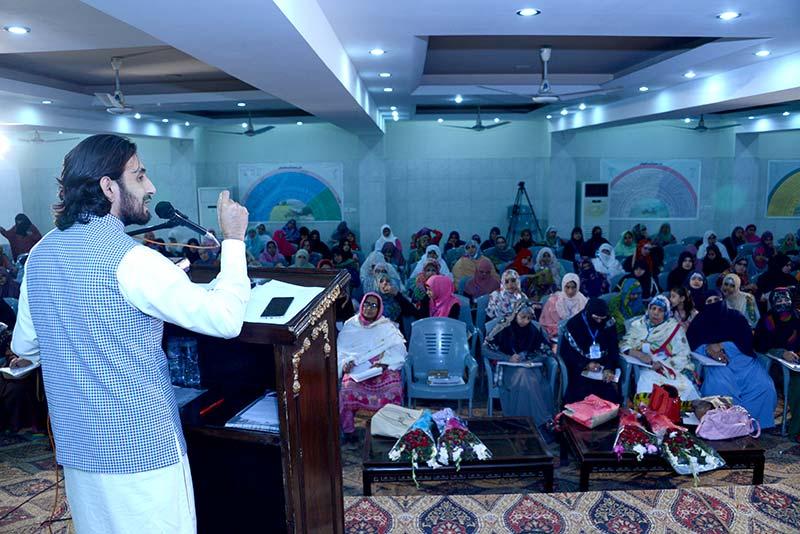 3rd Day of MWL Orgnizational Training Camp: Rafaqat sazi session