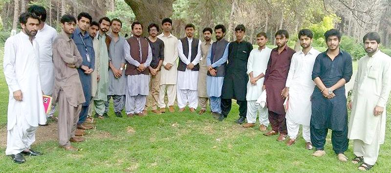کوئٹہ: ایم ایس ایم کے مرکزی عہدیداران کی یونیورسٹی آف بلوچستان کے طلباء سے ملاقات