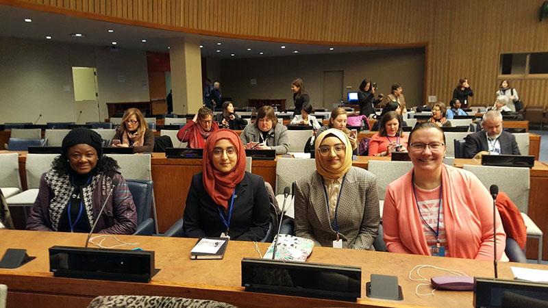 منہاج القرآن خواتین رہنماؤں کے وفد کی اقوام متحدہ میں عالمی کانفرنس میں شرکت