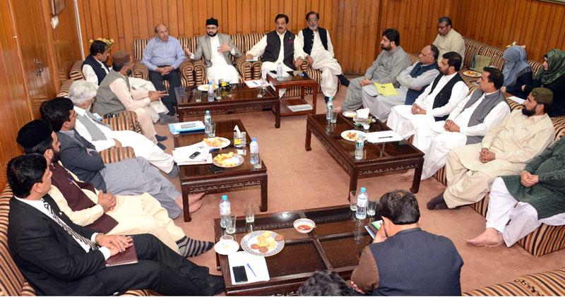 Chief Justice taking suo motu notices in public interest: Dr Hassan Mohi-ud-Din Qadri