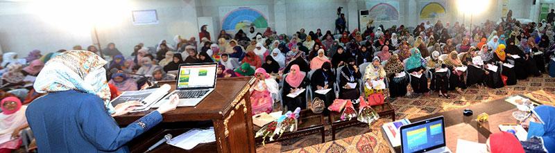3rd Day of MWL Organizational Training Camp: Dr Ghazala Hassan Qadri shares strategies on Dawah