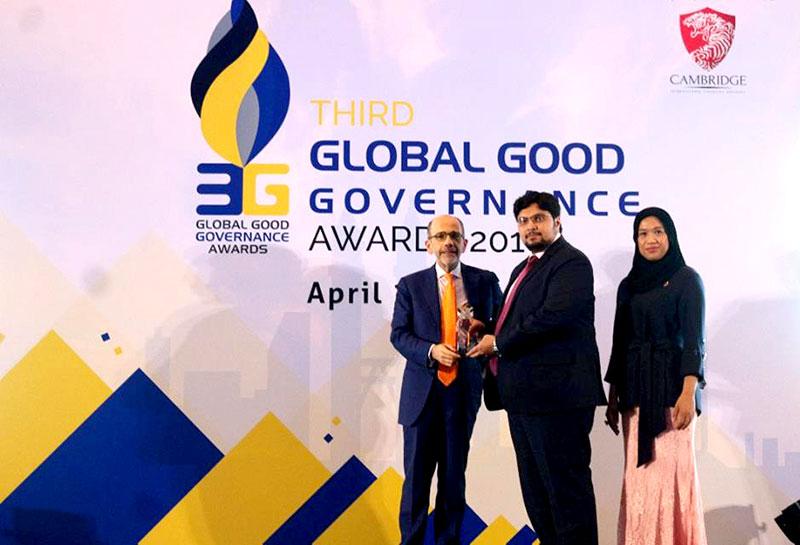 کیمبرج آئی ایف اے کی طرف سے منہاج یونیورسٹی کیلئے بہترین تعلیمی ادارہ کا ایوارڈ