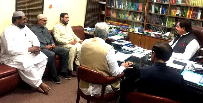 خانقاہیں انسانی خدمت اور روحانی تربیت کے مراکز ہیں : خرم نواز گنڈاپور