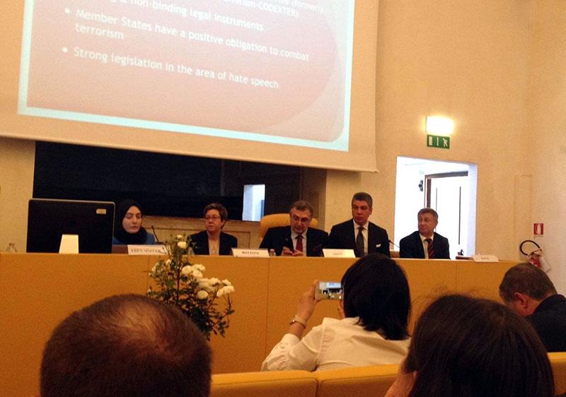 مودنہ (اٹلی): منہاج القرآن سسٹر لیگ کی رہنما حفصہ علی کی ''ترکش، اٹالین پبلک اینڈ کرمنل لاء کانفرنس'' میں شرکت