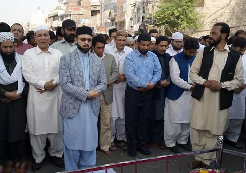ڈاکٹر طاہرالقادری کا پیر غلام حیدر ضیائی کے انتقال پر اظہار افسوس