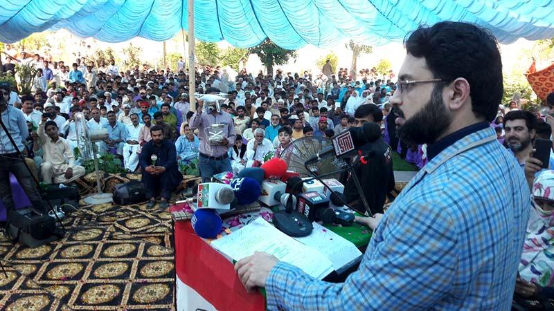 لٹیروں کے احتساب کیلئے الیکشن میں تاخیر سے کوئی قیامت نہیں آئیگی: ڈاکٹر حسن محی الدین کا چنیوٹ میں ورکرز کنونشن سے خطاب