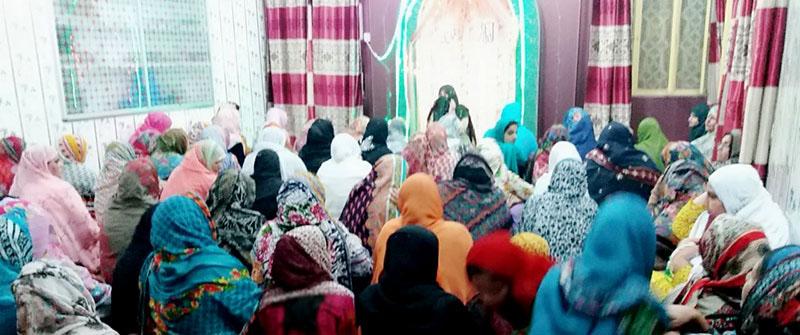 جہلم: منہاج القرآن ویمن لیگ کے زیراہتمام ''محفل شب برات''