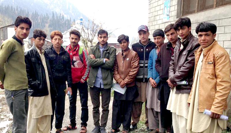 Muhib Majeed visits Khail, Azad Kashmir