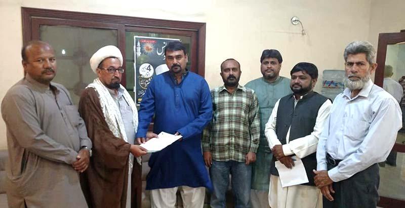 عوامی تحریک کراچی کے قائدین کی مجلس وحدت المسلمین کے وفد سے ملاقات