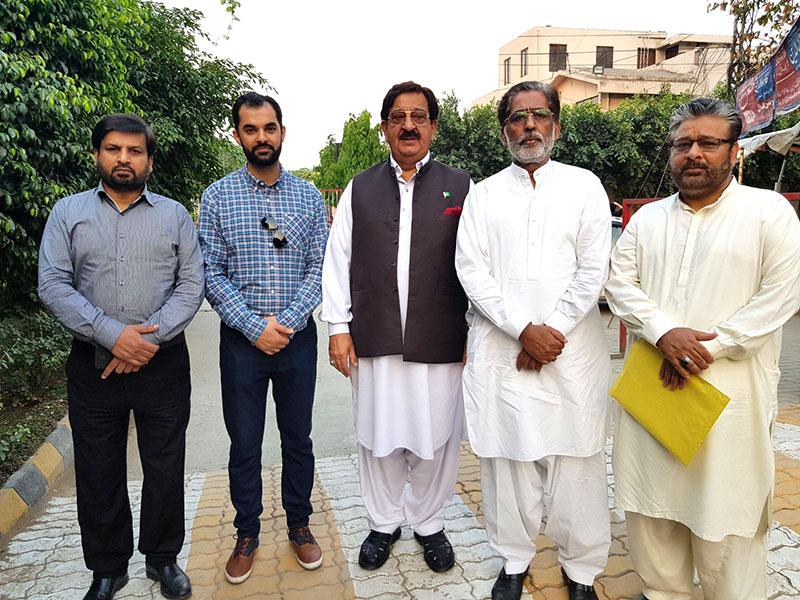 منہاج القرآن یوتھ لیگ یورپ کے صدر اویس اعجاز کا مرکزی سیکرٹریٹ لاہور کا دورہ