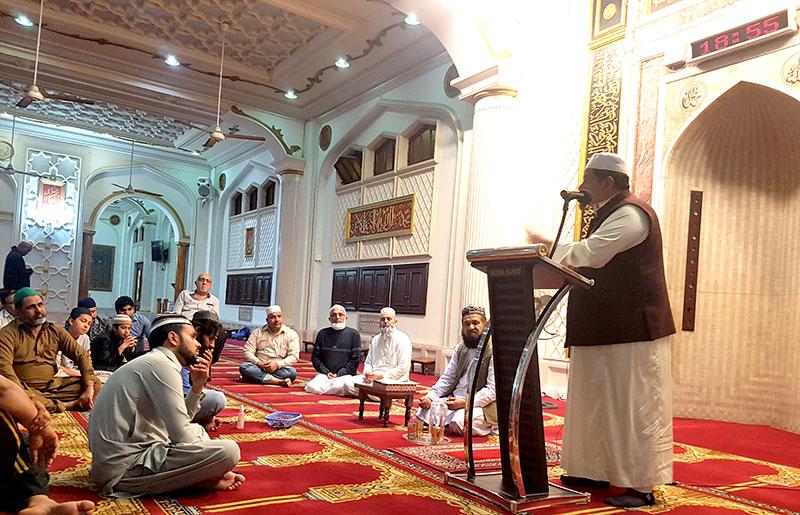 South Africa. Halaqa e Durood & Dars e Irfan-ul-Quran held