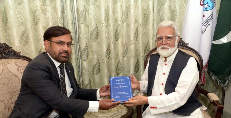 ڈائریکٹر انٹرفیتھ ریلیشنز منہاج القرآن سہیل احمد رضا کی آرچ بشپ جوزف کوٹس سے ملاقات