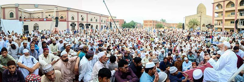 شہر اعتکاف میں نماز عصر کے بعد روزانہ فقہی مسائل کی تفہیم کیلئے تربیتی نشست کا اہتمام کیا جاتا ہے