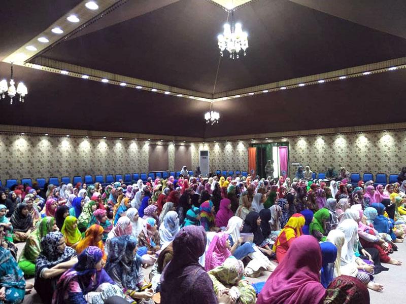 Women Itikaf 2018: Day 2
