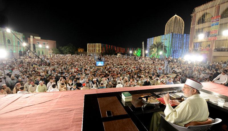 Itikaf City 2018 (Day 6): Shaykh-ul-Islam Dr Muhammad Tahir-ul-Qadri's lecture on Masnavi Sharif