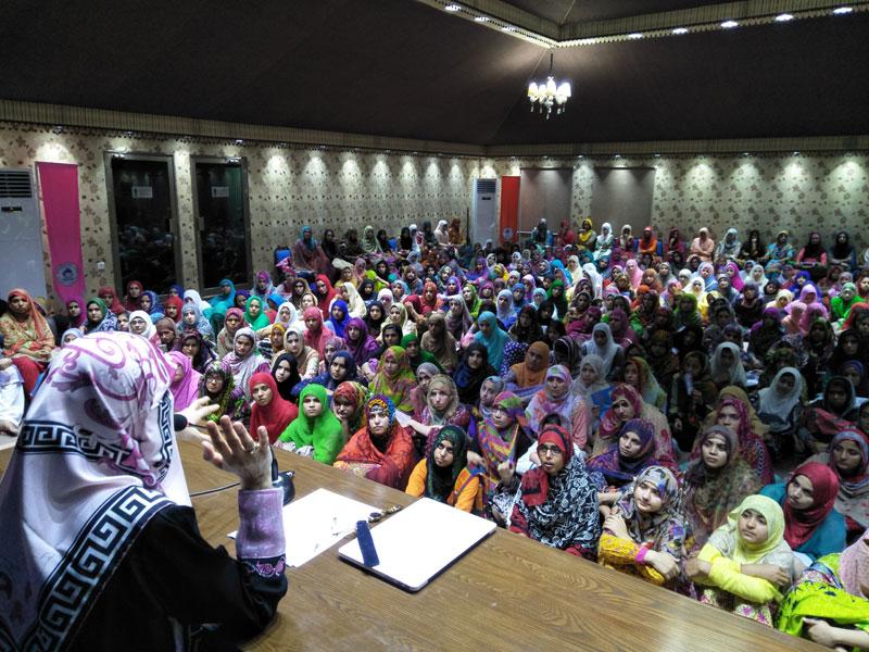 Women Itikaf 2018: Day 3
