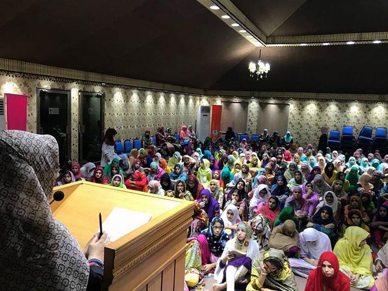 Women Itikaf 2018: Day 4