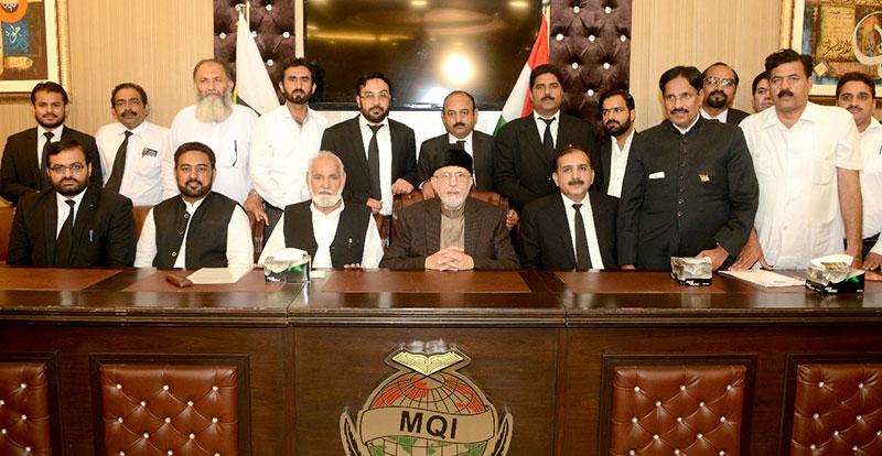 پاکستان عوامی تحریک لائرز موومنٹ (PALM) کی تنظیم نو