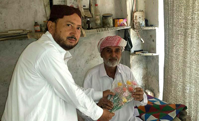 منہاج القرآن نواب شاہ کے رہنماء عبدالستار چوہان کی عوامی تحریک کھپرو کے جنرل سیکرٹری عبداللہ کمبر سے ملاقات