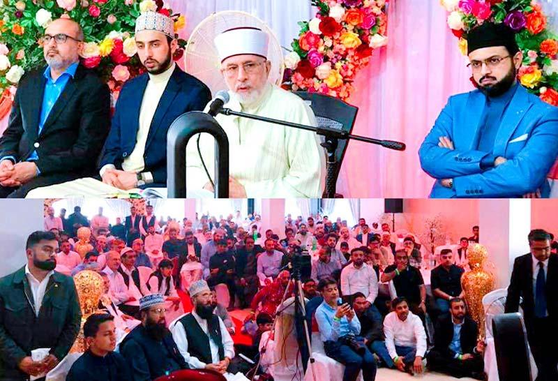 دورہ برطانیہ: شیخ الاسلام ڈاکٹر محمد طاہرالقادری کا بریڈ فورڈ میں خطاب