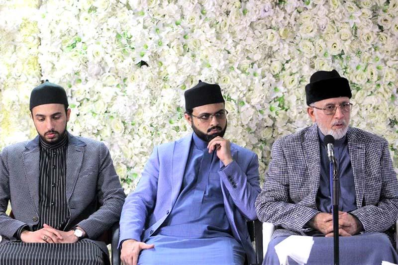 لندن: شیخ الاسلام ڈاکٹر محمد طاہرالقادری کی کارکنان کیساتھ تربیتی نشست